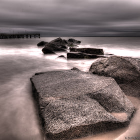 Rocks At Coney Island by Kevin Richardson (Naturally_Intense_Photography)) on 500px.com