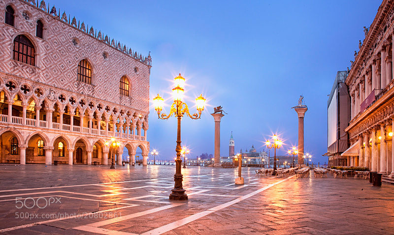 Photograph  Sunrise over Piazzetta di San Marco by Sonia Blanco on 500px