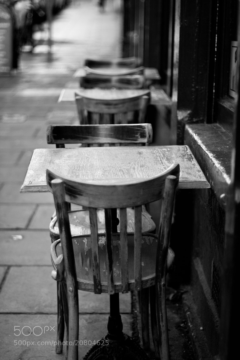 Photograph Empty chairs at empty tables by Monika Wadowska on 500px