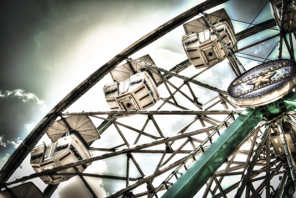 Photograph Ferris Wheel by Michael Huber on 500px