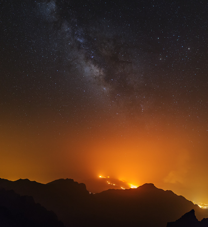Wildfires on The La Palma Island by Vitalis Vasylius on 500px.com