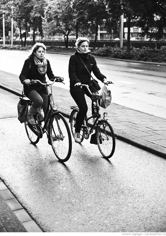 Photograph Two girls on bikes by Artem Sapegin on 500px