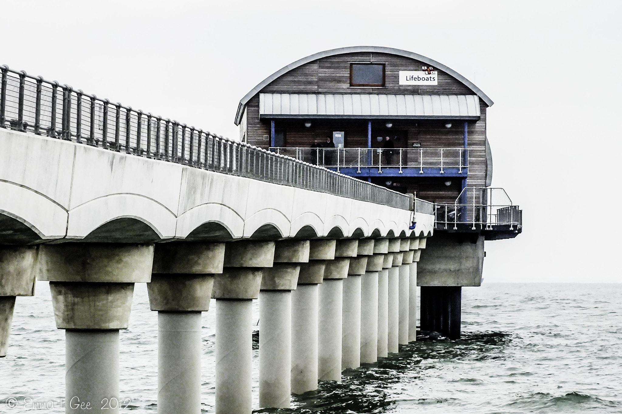 Photograph Bembridge Lifeboat Station by Emma Gee on 500px
