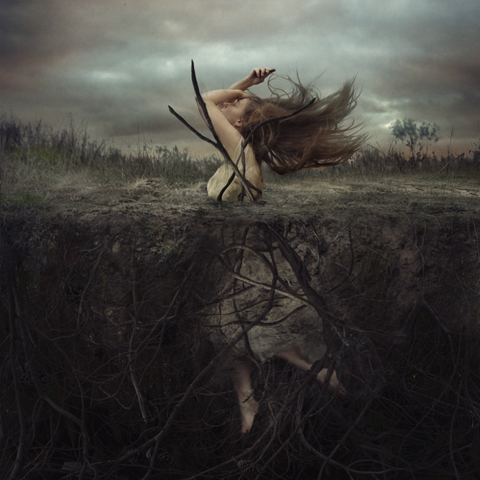 Photograph Battle at Cliffside Hill by Brooke Shaden on 500px