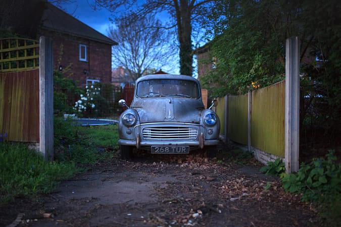 Antique on wheels