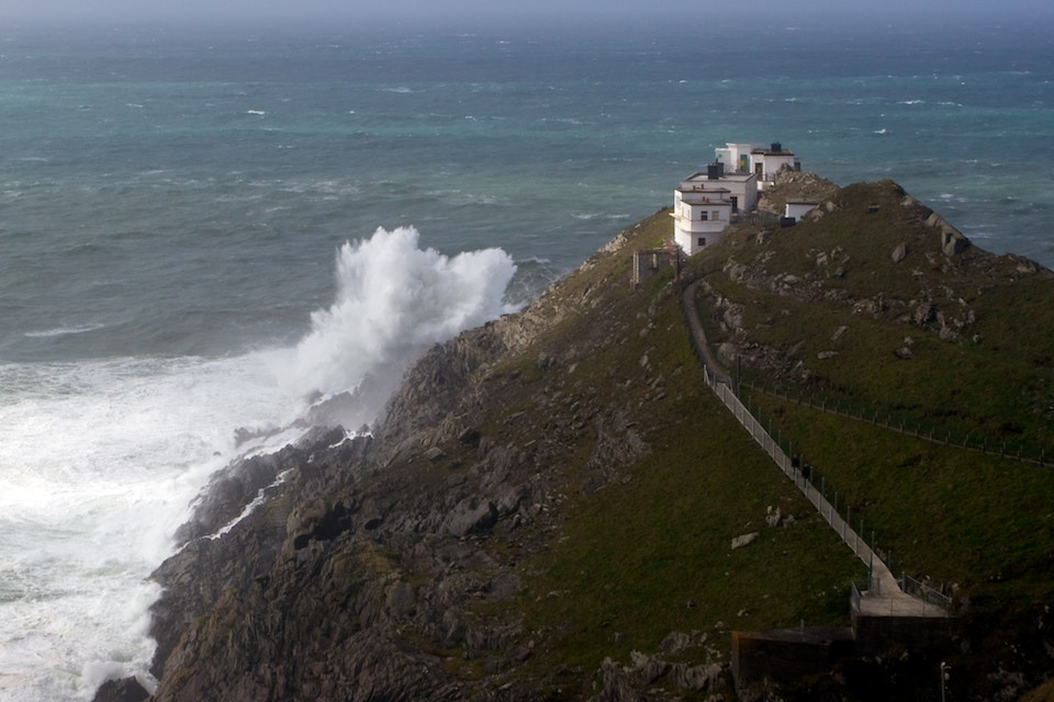 Photograph Big swells crashing on Mizen Head by Eddo Kloosterman on 500px