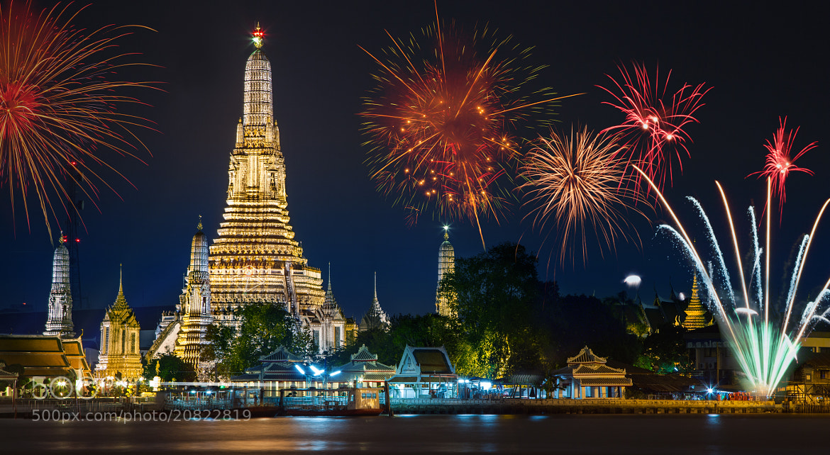 Photograph Wat arun under  by Anek S on 500px