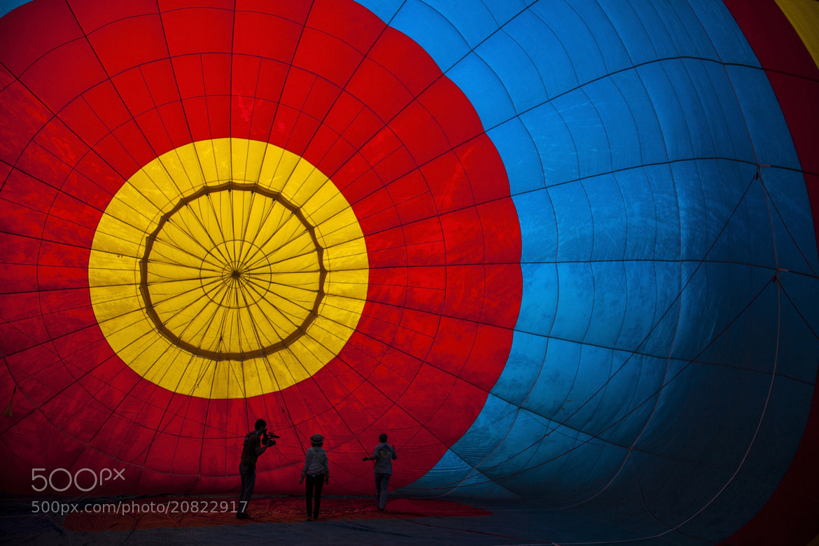 Photograph balloon view from inside  by Anek S on 500px