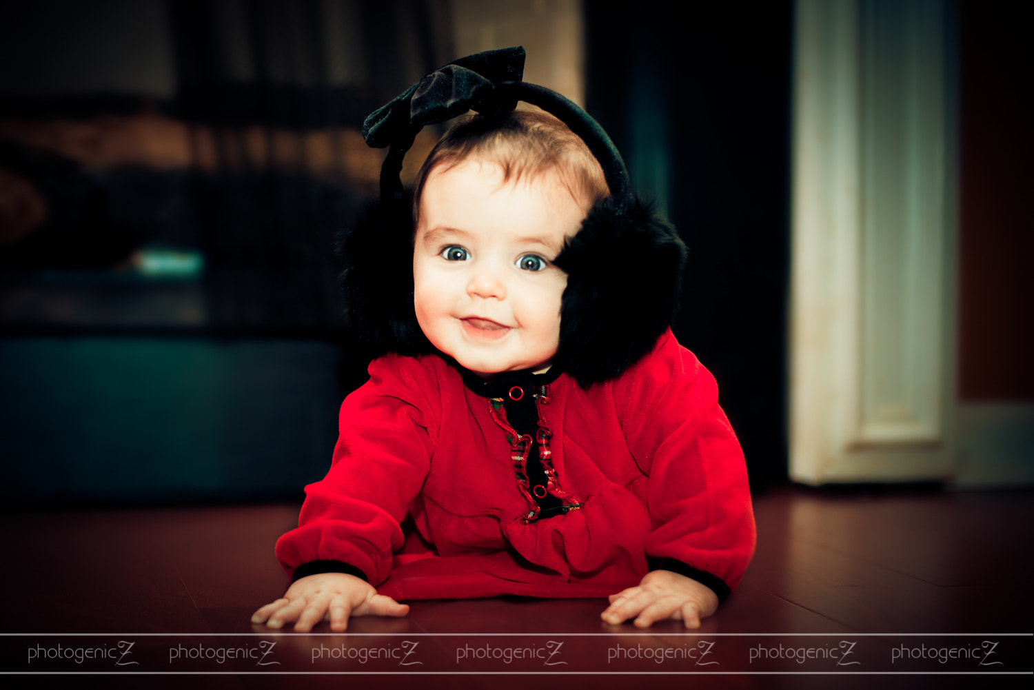 Photograph Annabelle's First Christmas by Laura Richardson on 500px