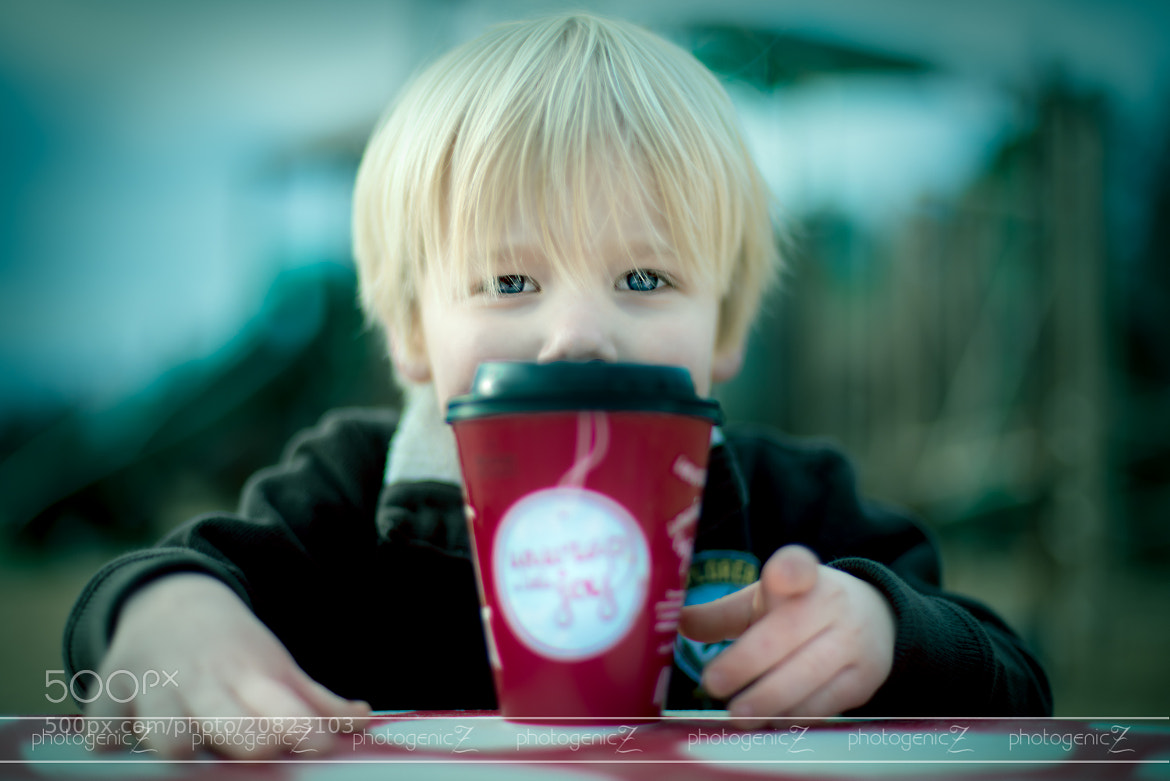 Photograph Aiden's Cup of Joe by Laura Richardson on 500px