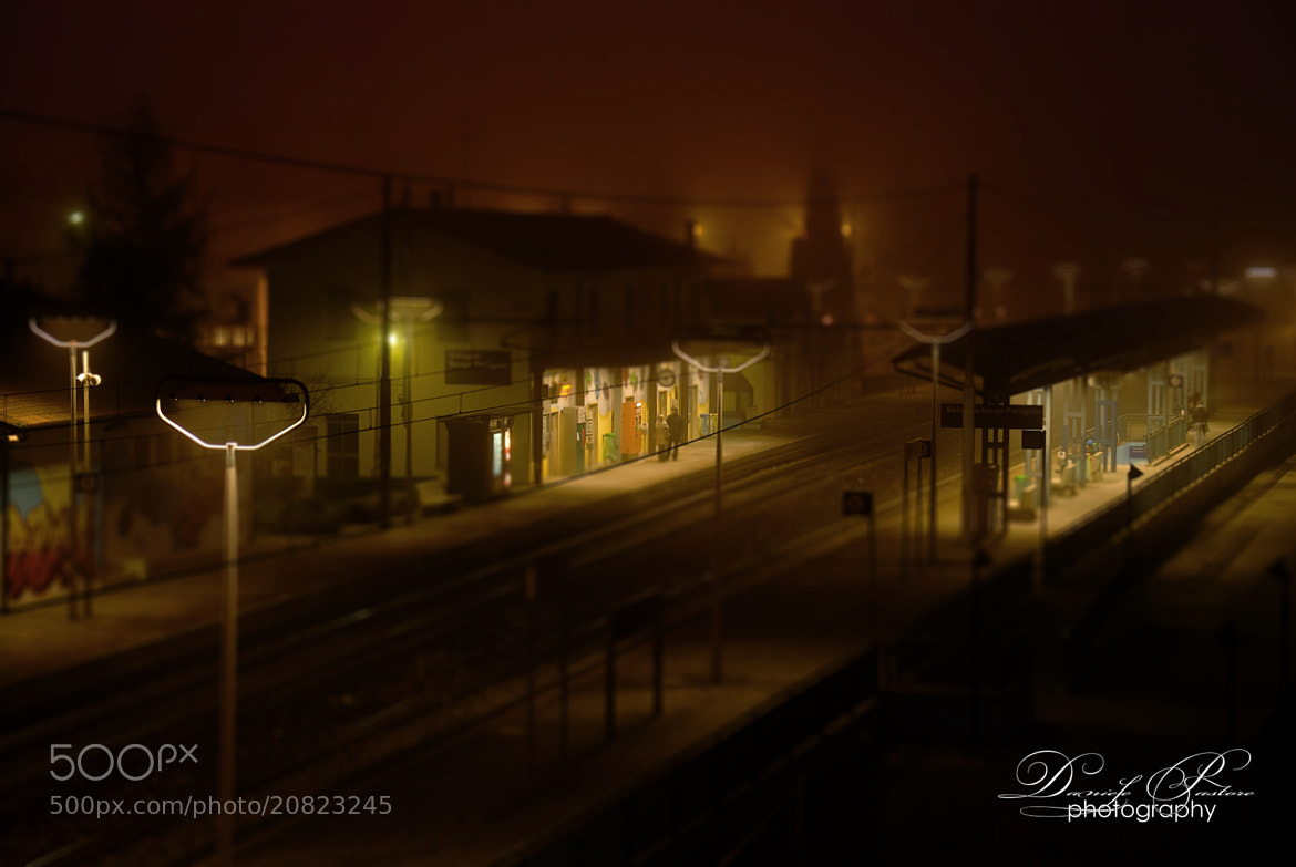 Photograph Train station by Daniele Pastore on 500px