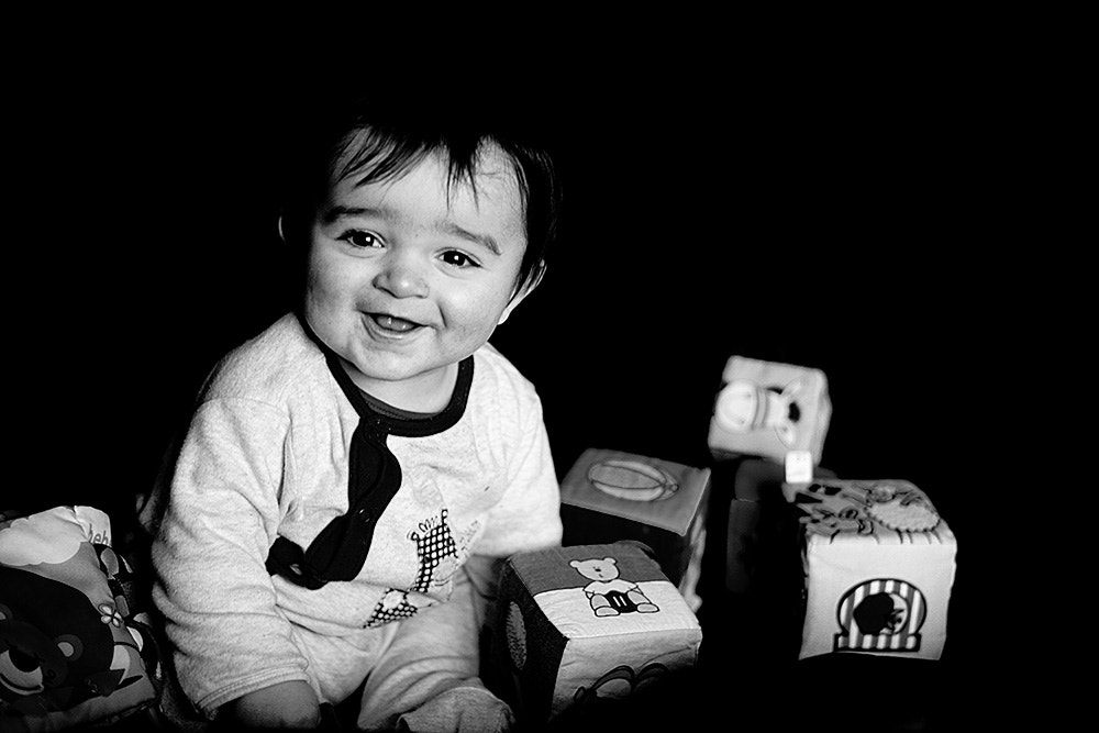 Photograph Baby Aaron playing by Rodrigo Cunha on 500px