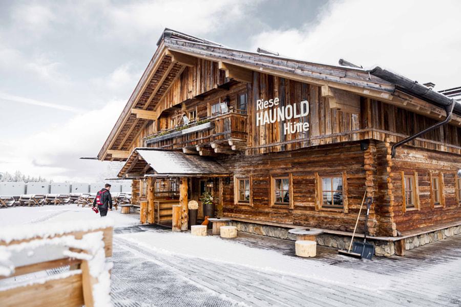 Skitouren Haunold Low