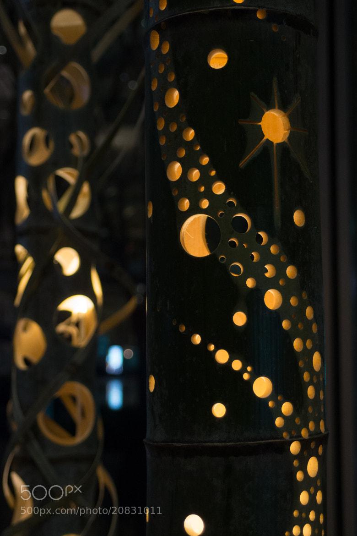 Photograph bamboo art lighting #2 by Aki Ono on 500px