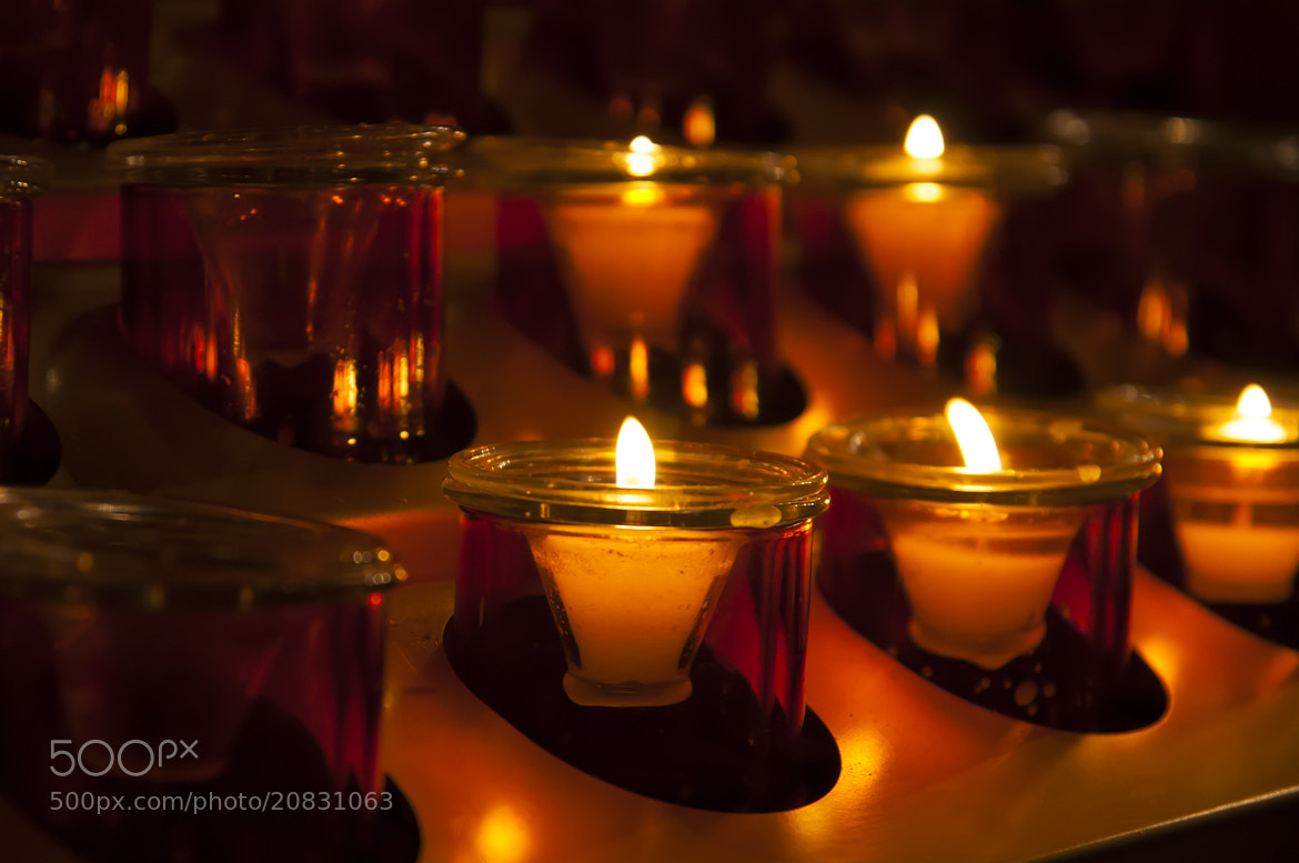 Photograph Offering Candles by Timothy Borkowski on 500px