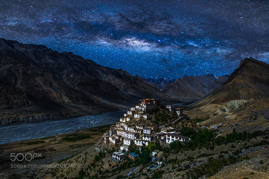 Photograph Ki Gompa by OaKy Isra on 500px