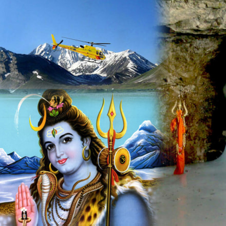 Beautiful Scenic View of Amarnath Ji