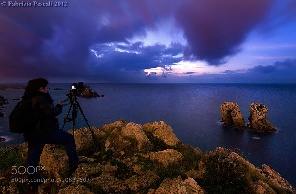 Photograph Shooting the last lights - www.fabriziopescali.com by Fabrizio Pescali on 500px