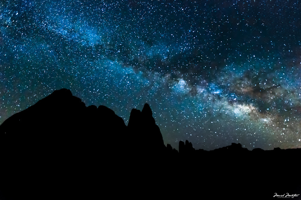 Photograph Arches National Park - Night Sky by Manish Mamtani on 500px