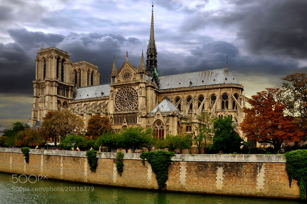 Photograph Notre Dame by Mato Bičvić on 500px