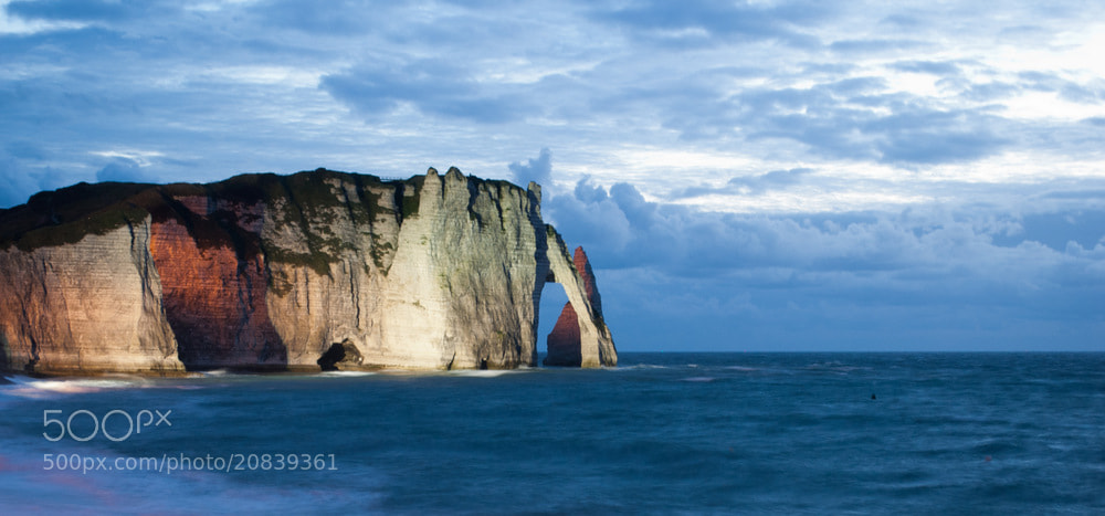 Photograph Etretat by Night by Andrea M. on 500px