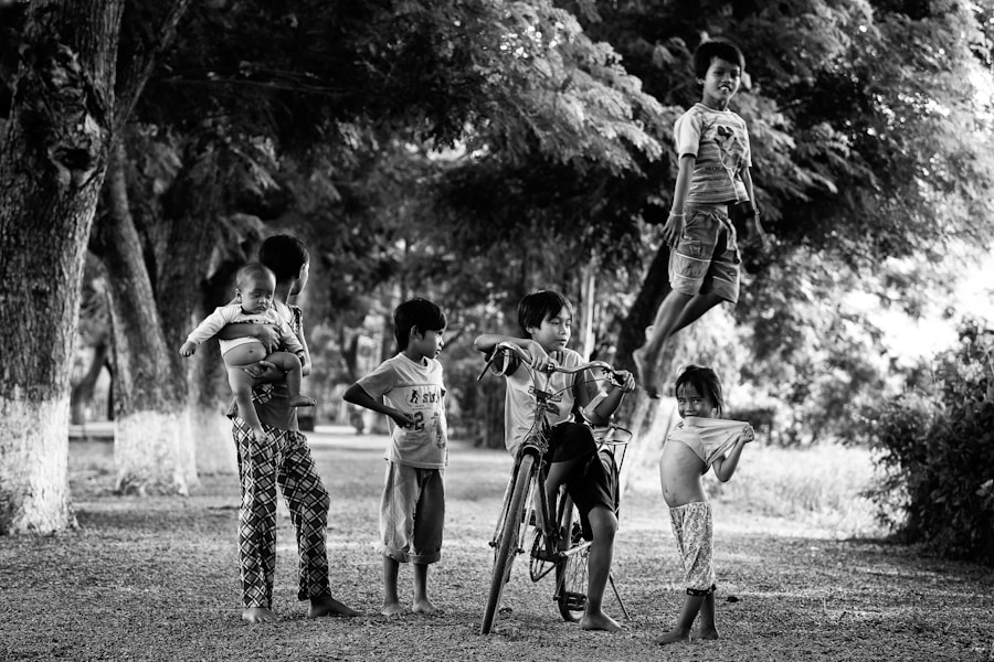Photograph Children at play in Chau Doc, Vietnam by Peter Pham on 500px