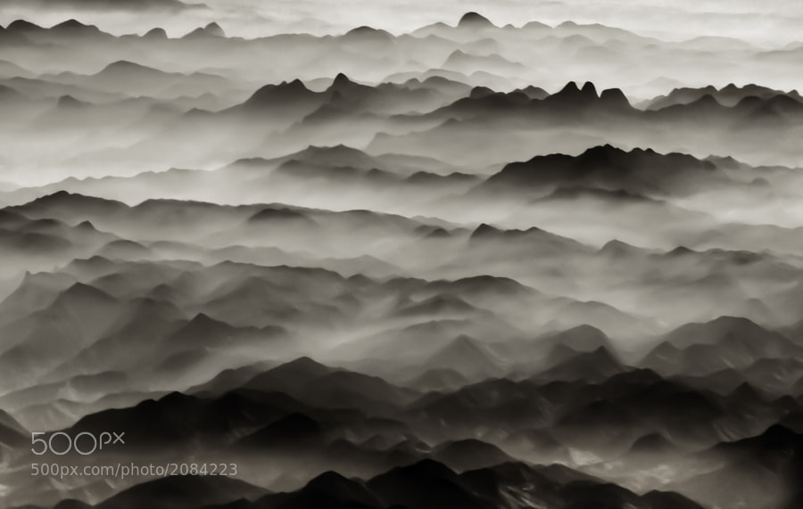 Photograph Ridges by Jon Bowles on 500px