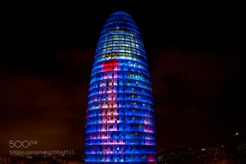 Photograph Torre Agbar by Guido Merkelbach on 500px