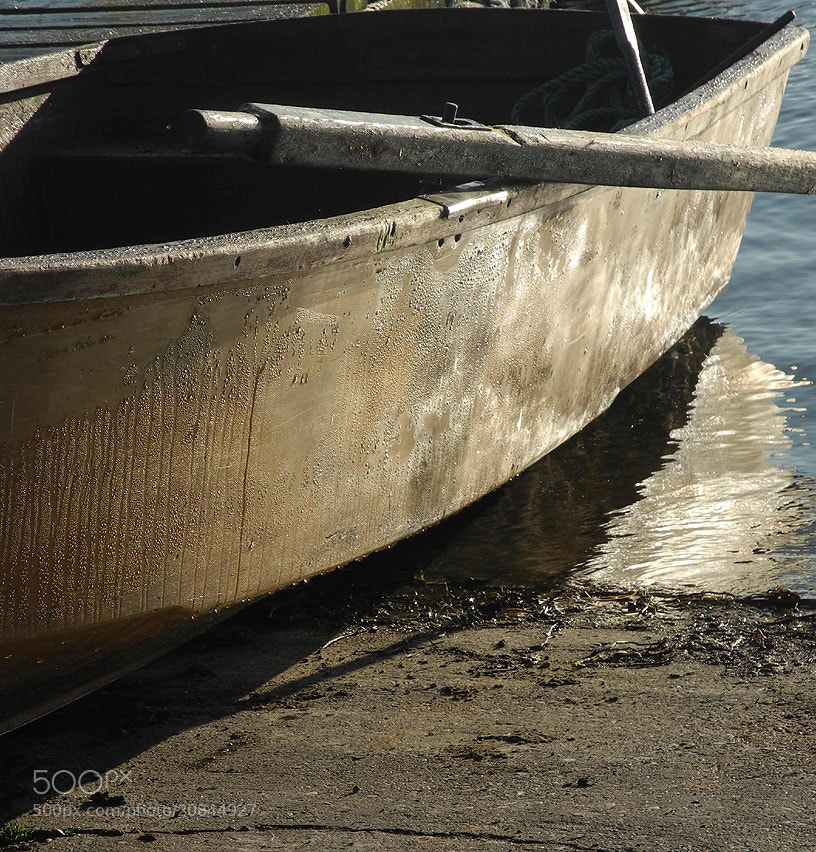 Photograph Winter morning boat at rest by uk worker Last Name on 500px