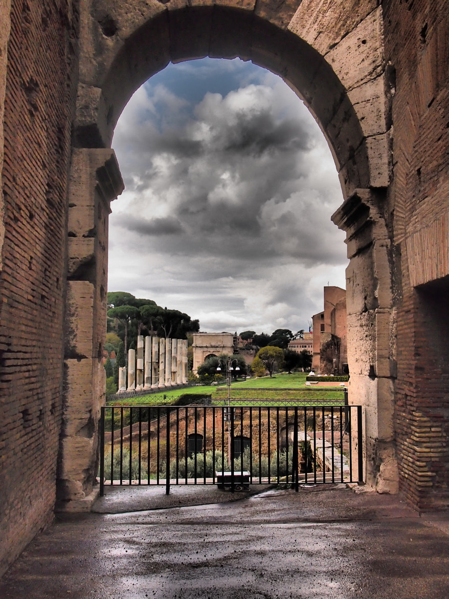 Photograph the look of the coliseum by Tony  Carriero on 500px