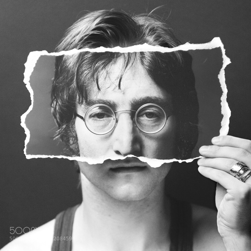 John Lennon by Kirill Fedorov (ihateyoutoo) on 500px.com
