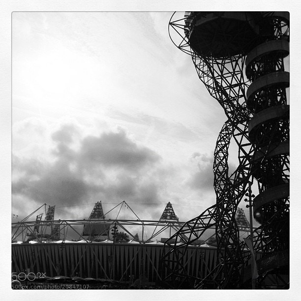 Photograph We made it some how. Hospital this morning Olympic Park this afternoon #london2012 by Steve Butterworth on 500px