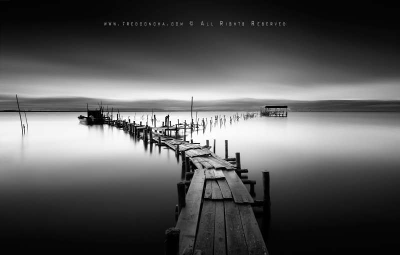 Photograph Paths B&W by Fred Concha on 500px