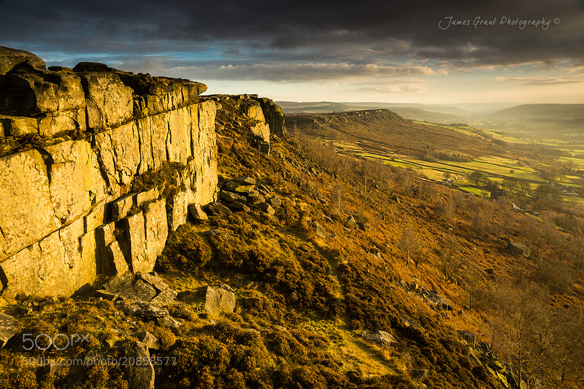 Photograph Curbar Edge Cliff by James Grant on 500px
