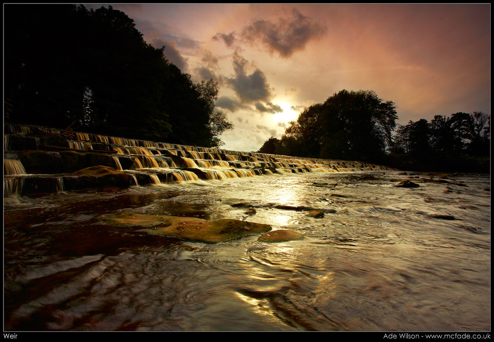 Photograph Weir in Yorkshire by Ade Wilson on 500px
