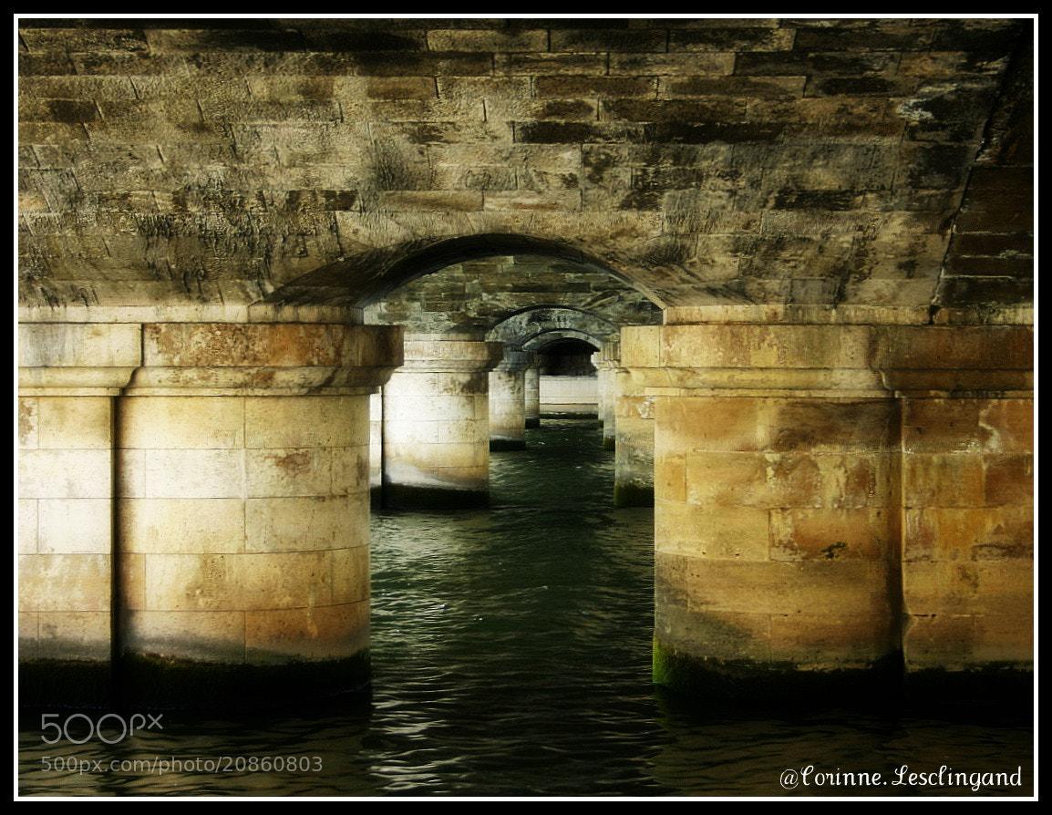 Photograph Sous les ponts de Paris by corinne Lesclingand on 500px
