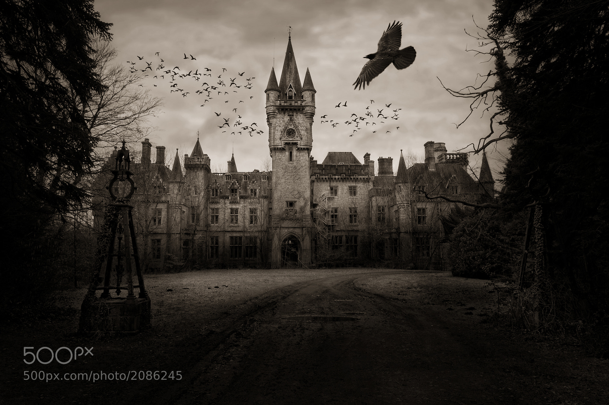 "Photograph ""Chateau de Noisy"" by Herbert Wannhoff on 500px"