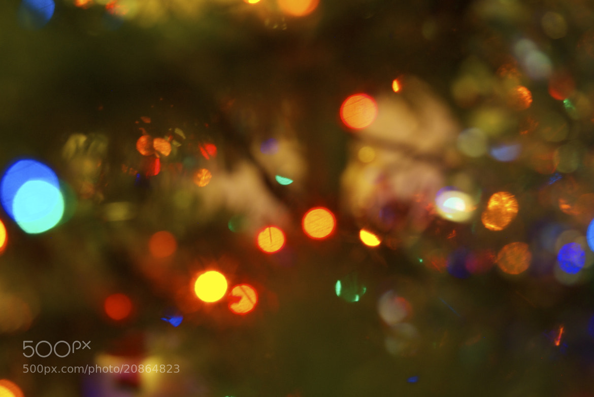 Photograph Christmas Bokeh Effect by Annabel Grant on 500px
