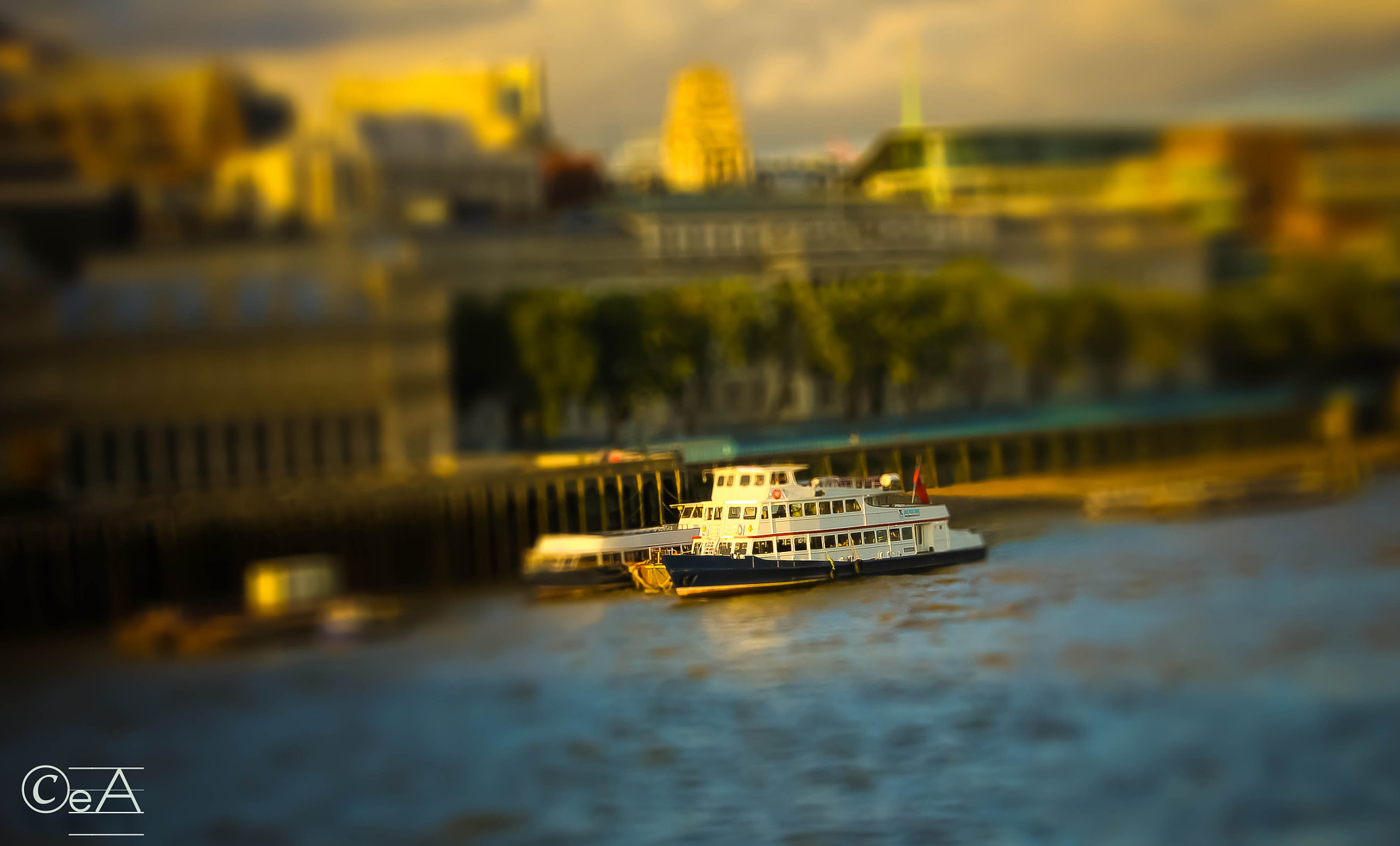 Photograph Toy boat in river thames london by Ershad Ashraf on 500px