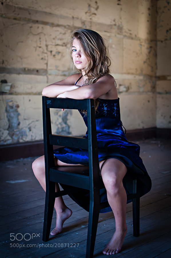 Photograph Blue dress by Craig Anderson on 500px