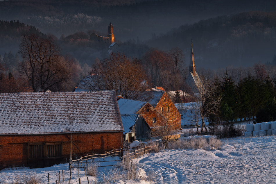 Photograph A Village White And Still by Izabela & Dariusz Mitręga on 500px