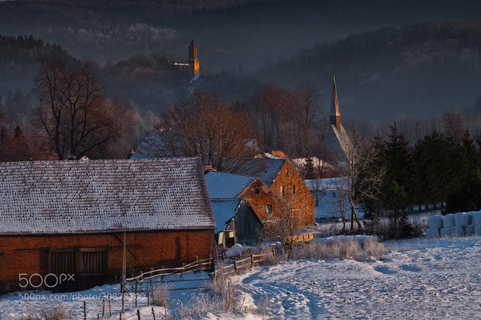 Photograph A Village White And Still by Izabela & Dariusz Mitręga on 500px