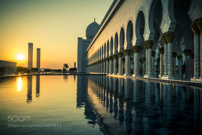 Photograph Grand Mosque Abu Dhabi by Rodrigo Kristensen on 500px