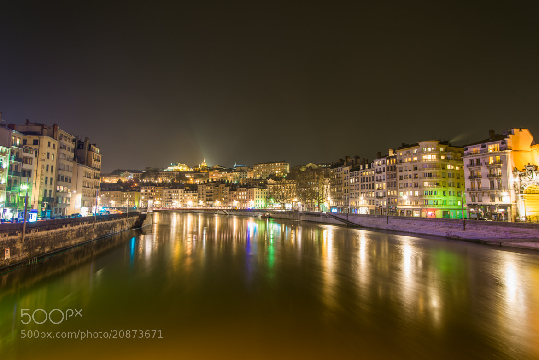 Photograph Lyon By Night - LIGHTS ON - by Julien REBOULET on 500px