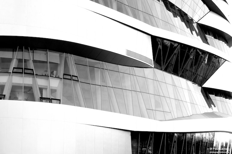 Photograph Mercedes Benz Museum by Paul Ladwig on 500px
