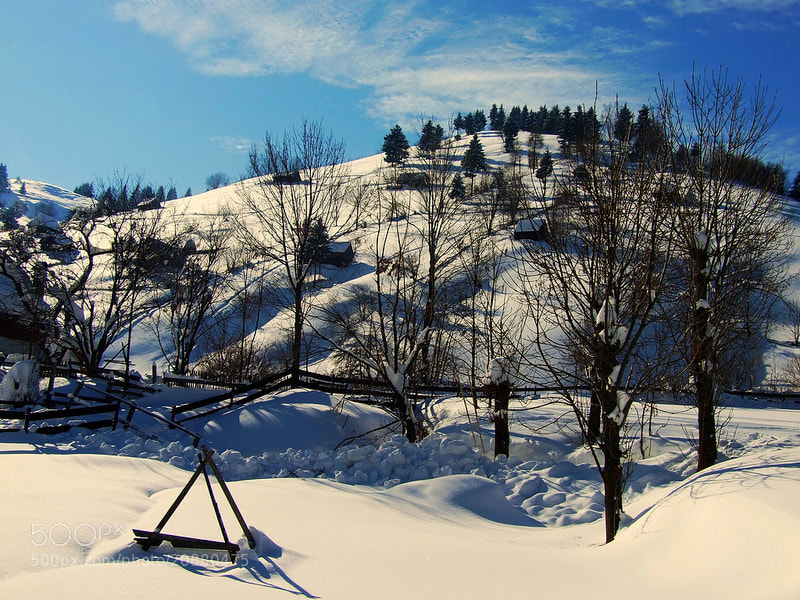 Photograph Winter on the hills by Eva Slusar on 500px