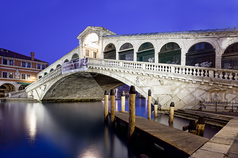 Photograph Twilight at Rialto Bridge by Sonia Blanco on 500px