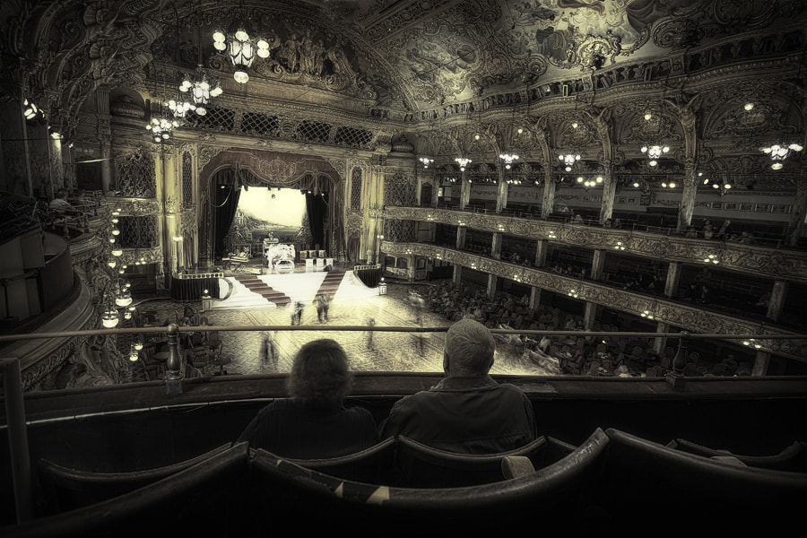 Photograph  'Step on my old size 9′s' | Blackpool Tower Ballroom by Craig Judd on 500px