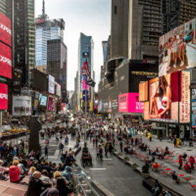 Time Square NYC - mal nicht im dunkeln