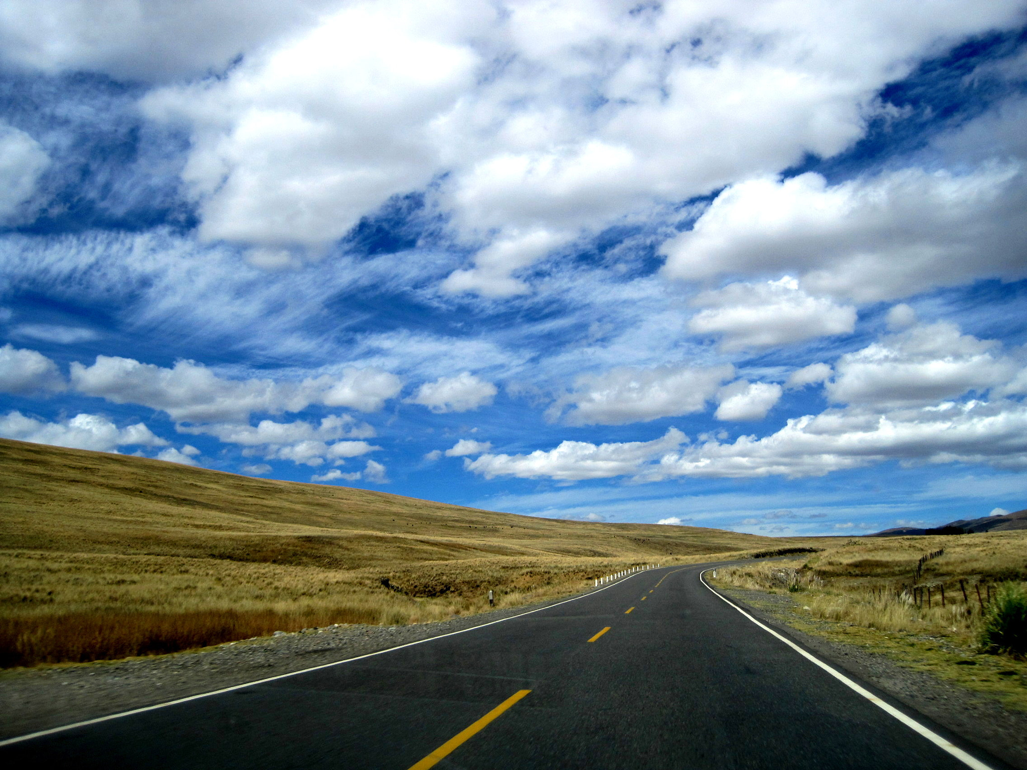 Photograph Peruvian Andean Highway by José Carlos Magot on 500px